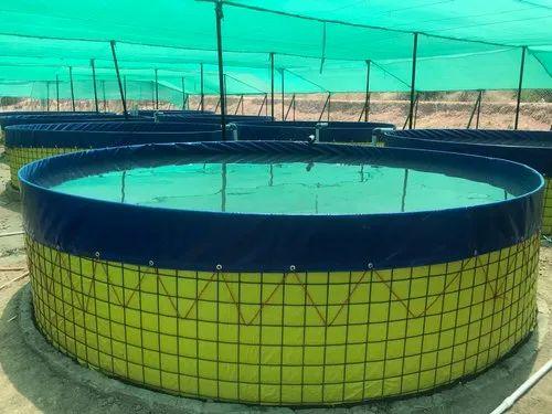 PVC Biofloc Aquaculture Tank