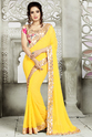 Georgette Wedding Sarees