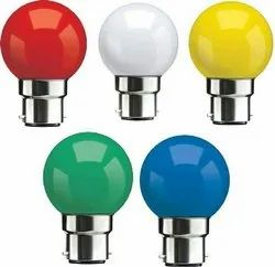 Turbo 0.5W LED Color Bulb, For Home