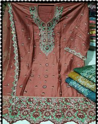 Party Wear Red Bridal Salwar Suit