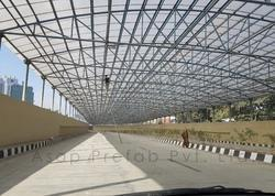 Under Pass Steel Canopy