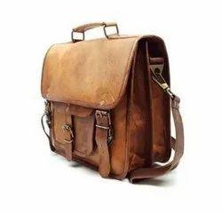 Vintage Leather Office Bag