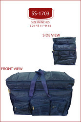 Navy Blue Nylon Material Travelling Air Bags