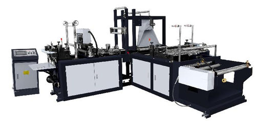 Non Woven Carry Bag Making Machine Model HES-500