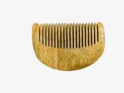 Neem Wood Comb / D Shape.