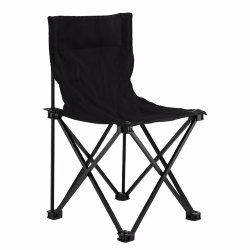 Black Khyati 12 Outdoor Folding Chair CH 01