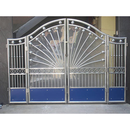 jindal stainless steel gate rs 1500 square feet hasan steel work