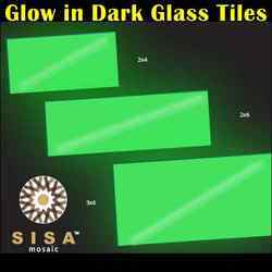 Glow in Dark Glass Tiles