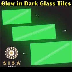 Glow in Dark Glass Tiles