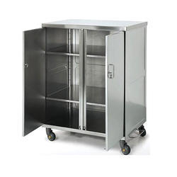 SS Cabinet Trolley