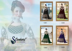 Heavy Embroidered Party Wear Latest Designer Suit