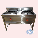 Rv Kitchen Equipment Gas Double Burner, For Hotel