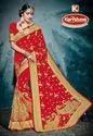 Bridal Wear Georgette Saree - Riwaaz-02