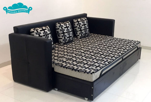 L Shape And U Black Red Sofa Bed Warranty 1 Year