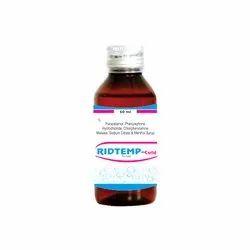 Phenylephrine  CPM  Paracetamol Sodium Citrate and Menthol