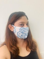 Cotton Face Mask.Reusable And Washable. Pack Of 100