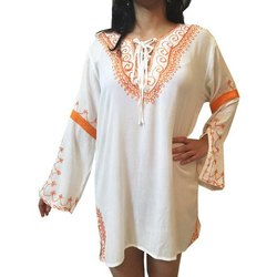 Rayon Embroidered Kaftan