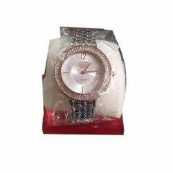 Round Casual Watches Ladies HMT Inox Watch