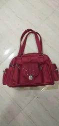 Ladies Maroon Hand Bag