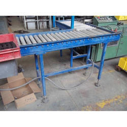 Non Powered Gravity Roller Conveyor