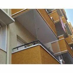 Transparent Balcony Net