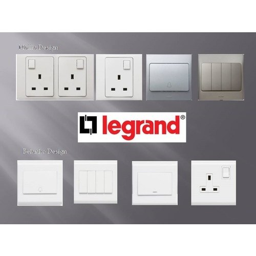 Legrand Switch And Socket, 200-240 V, Rs 20 /piece, SRP