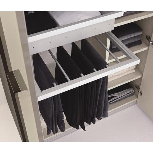 Pull Out Wardrobe Trouser Rack