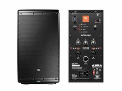 Black JBL EON 612 Outdoor Speaker