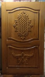 3d carving teak door