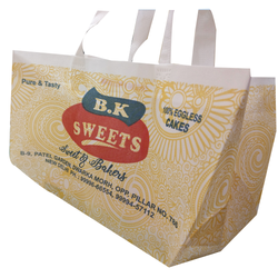 Gusset Non Woven Bag; Thickness: 40 - 60 GSM