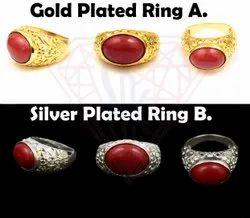Carnelian Gemstone Ring