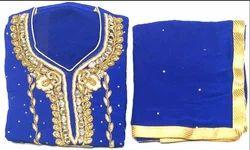 Goergette Ladies Handwork Blue Suit 18