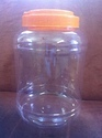 Transparent Plastic Jar For Honey