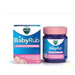Vicks Baby Rub, 50ml , packaging Type: Bottle
