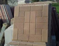 Ceramic Cement Floor Tile, Thickness: 6 - 8 mm