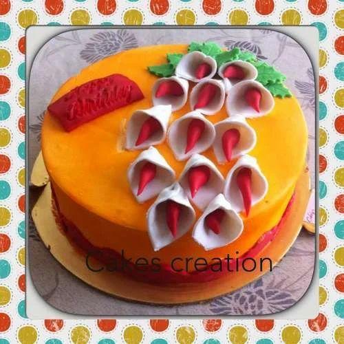 Fresh Birthday Cake At Rs 500 Kilogram