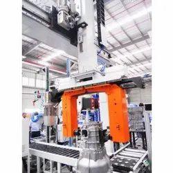 Material Handling Robot Machine