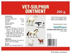 Vet - Sulfur Ointment ( Ringworm Care )