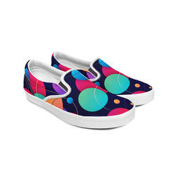 Creative Sole Canvas Shoes, Size: 6 to 8