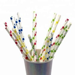 Water Based Ink Paper Straws