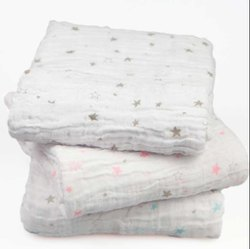 Cotton Muslin Double Cloth Fabric