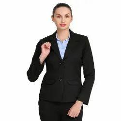 Women's Formal Poly Cotton Blazer