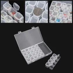 28 Slot Nail Storage Box