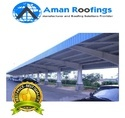 FRP Fiber Parking Shed