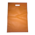 Orange Non Woven D Cut Bag