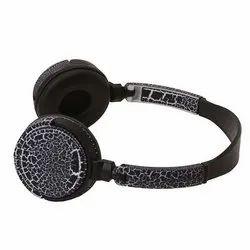 Black On-ear Headphones Stereo Headphone, Model Number: Mdr-sh41