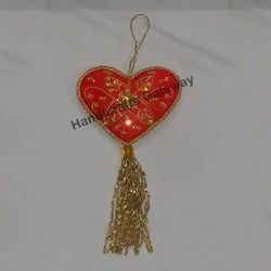 Zari Embroidery Christmas Decoration