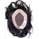 Mono Filament Human Hair Skin/Toupee/Patch