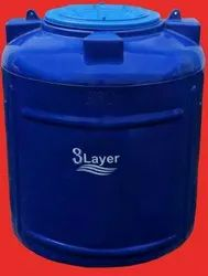 Triple Layer (Cylindrical Vertical Water Tank)