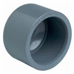 Black PVC End Cap, Size: 110mm